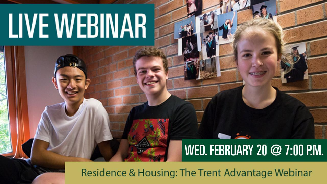 Child & Youth Studies: The Trent Advantage Webinar