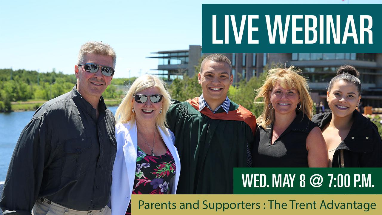Parents and Supporters: The Trent Advantage Webinar