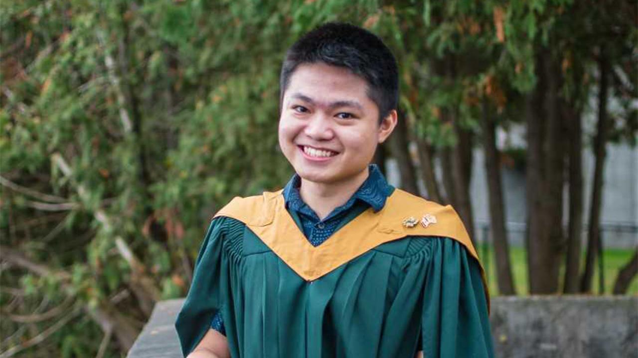 Trent University student Jo Ong