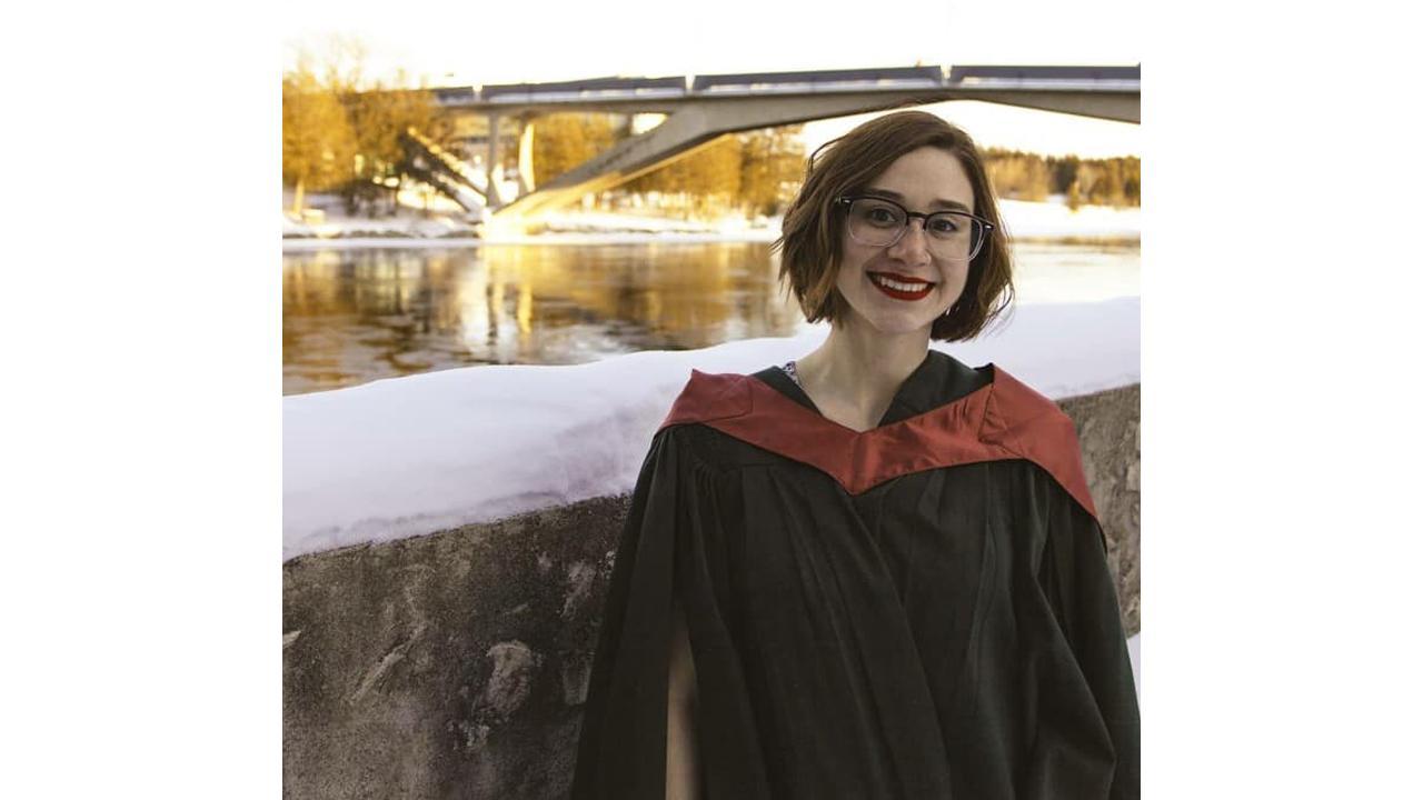 Trent University student Tara Spence
