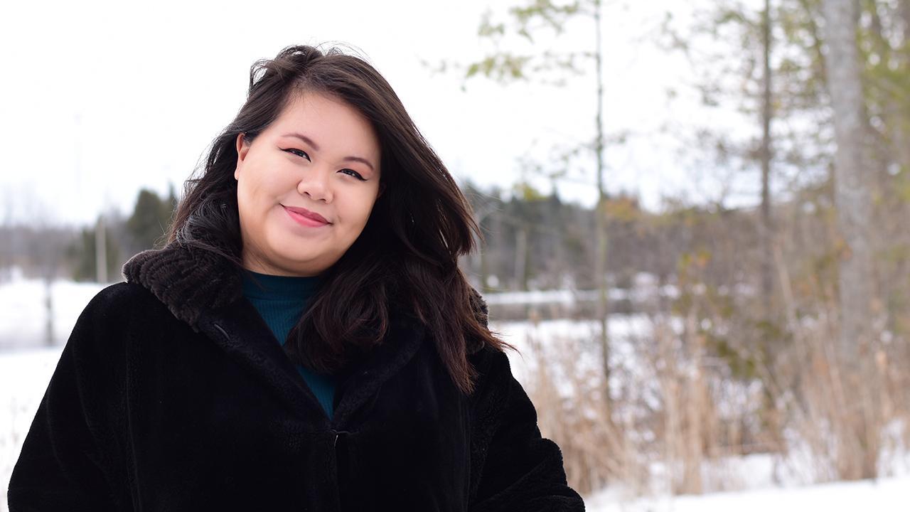 Trent University student Dorothy Cheng