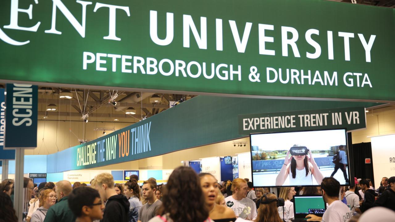 Ontario Universities Fair Trent Booth