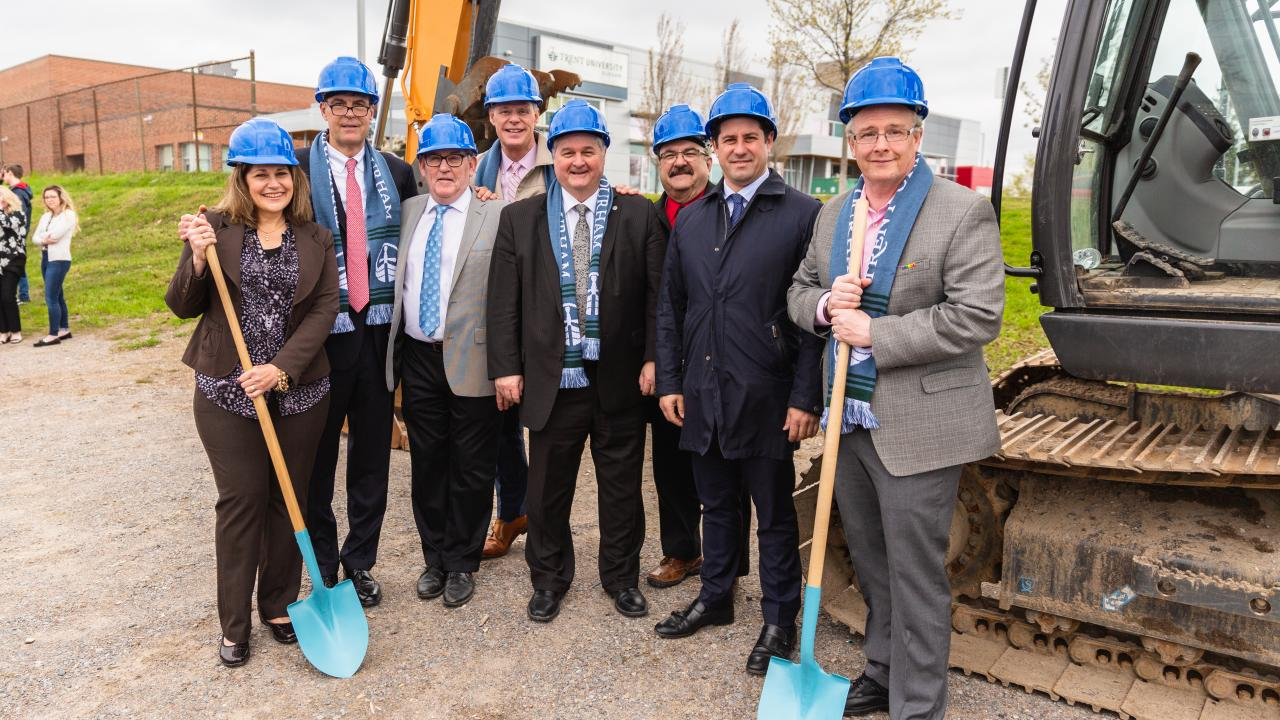 Durham campus expansion groundbreaking