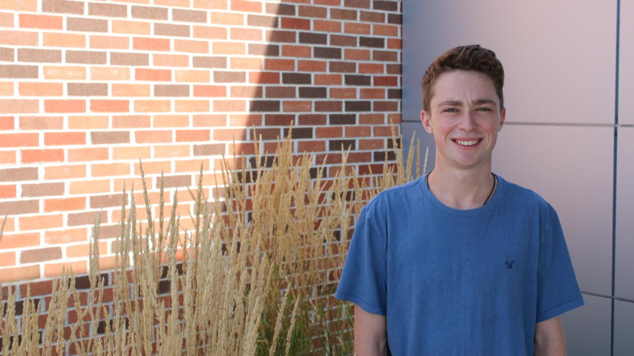 First-year student Lucas Geeves wins draw for first-year free tuition