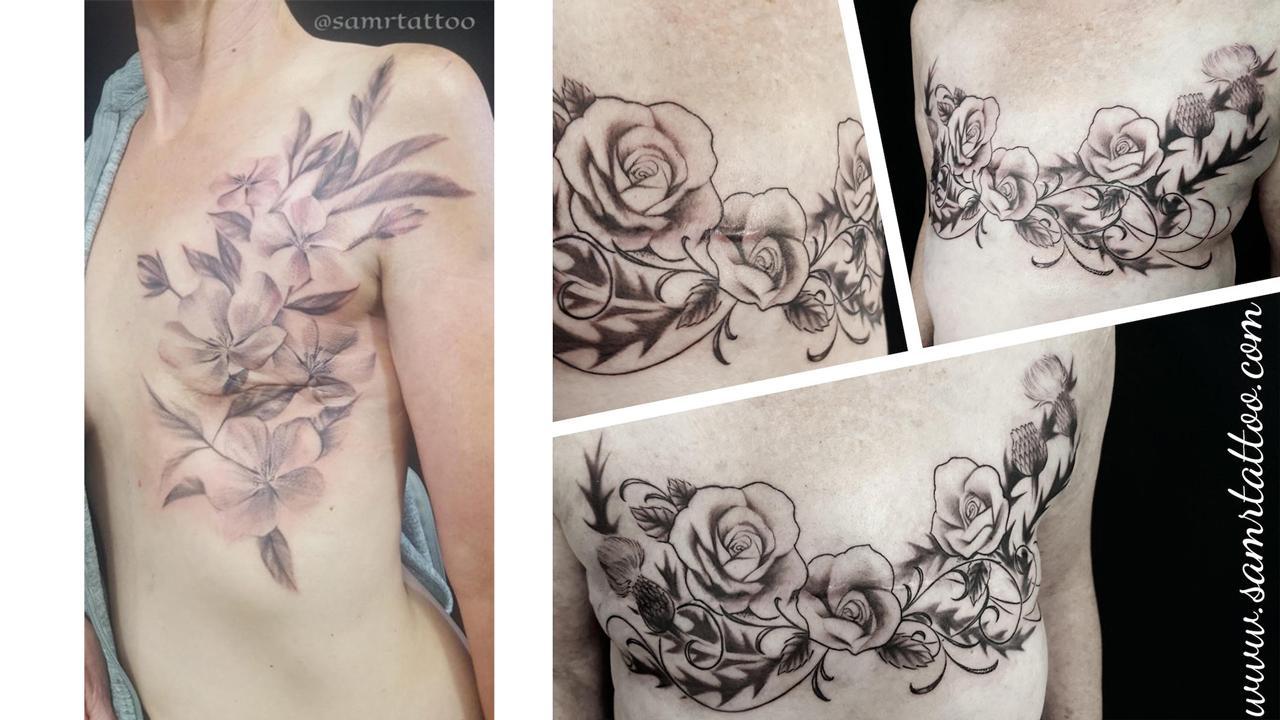 Victoria Reid-De Jong's tattoo