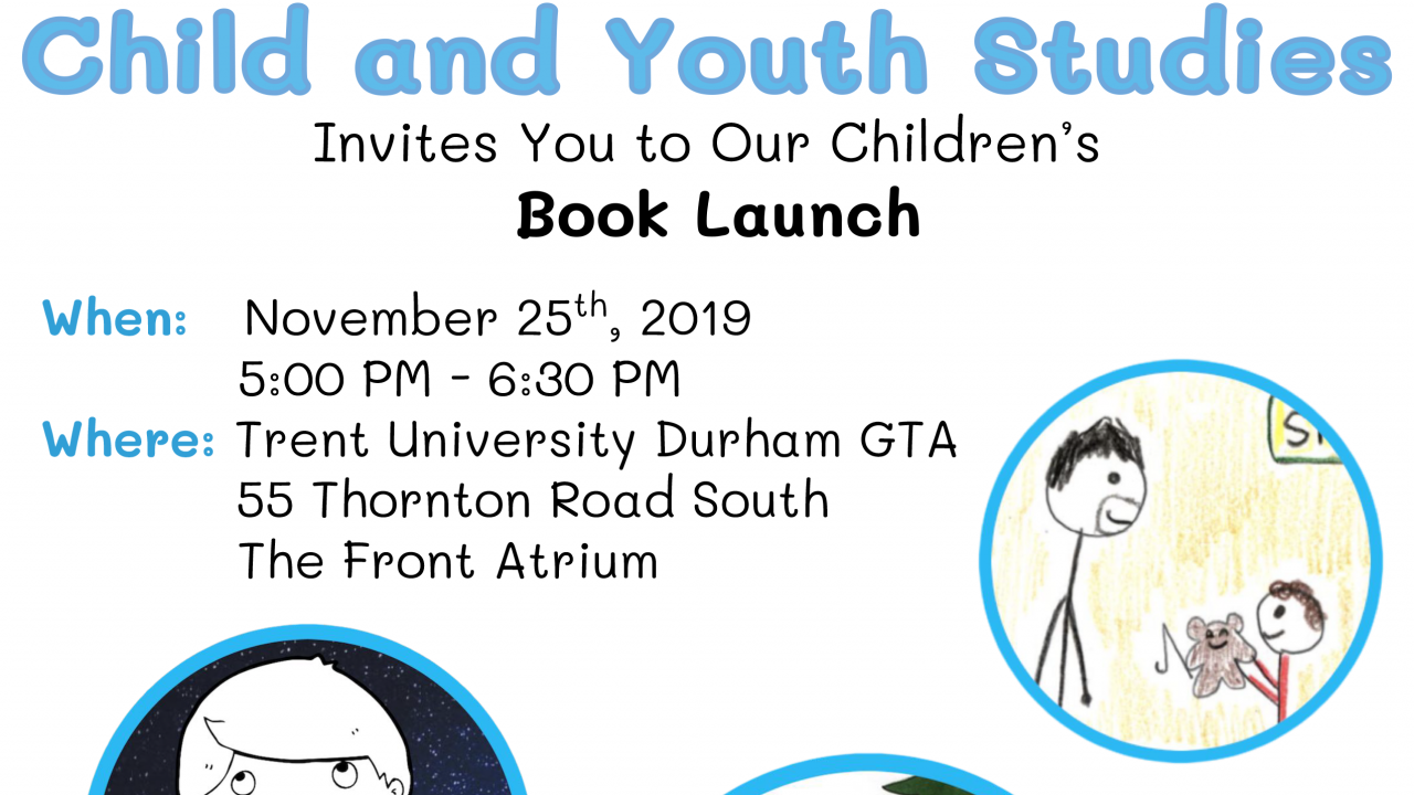 Child and Youth Studies book launch November 25 2019