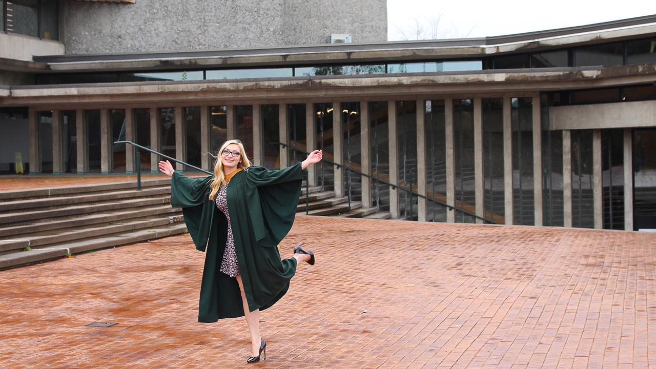 Melissa Van Bussel, Mensa Canada Scholarship Winner
