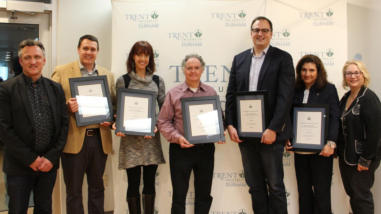 Showing the Love for Teaching Excellence at Trent University Durham GTA