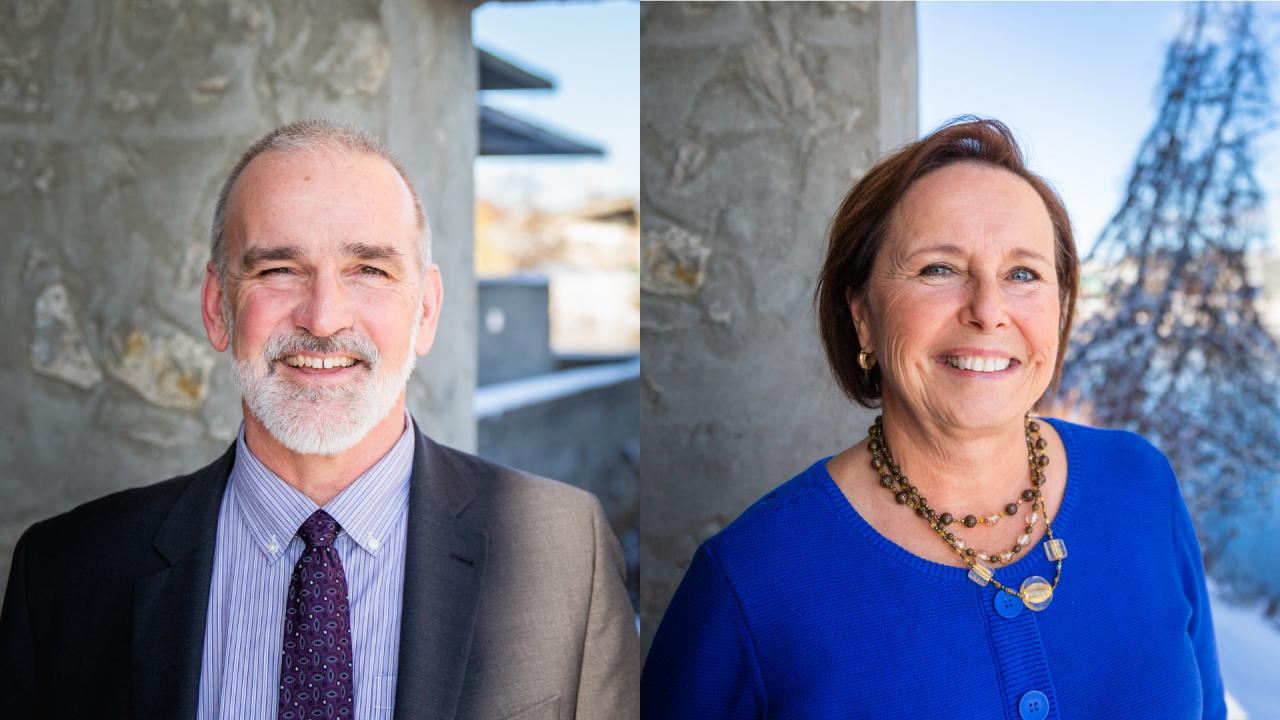 Trent University's Board of Governors approved the appointment of two vice chairs of the Board of Governors, Scott Sinclair '80 and Debra Cooper Burger.