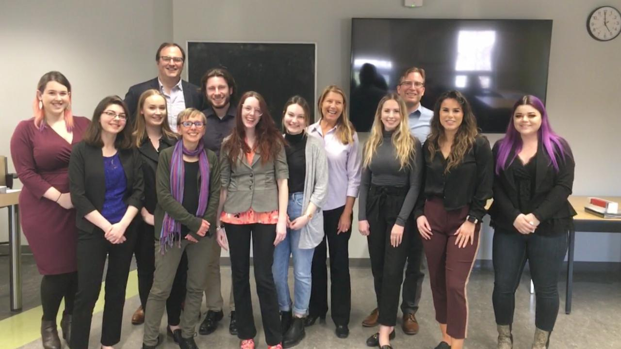 Trent University third year Communications and Critical Thinking capstone course.