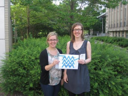 Lisa (left) and Julia (right) were recently awarded CAWLS 'New Voices in Labour Studies English Language Prize'